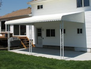 Aluminum Awnings Aluminum Patio Awnings Wrisco Industries Inc