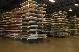 stacked aluminum sheets - Wrisco Industries